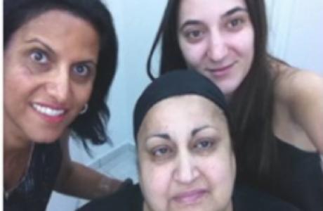 אמא של סיגל – פצע קשה ריפוי ברגל